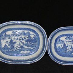 DISHES-VEGETABLE DISHES-OPEN (Oblong, Wide Rim)