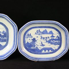 DISHES-VEGETABLE-OPEN (Octagonal, Wide Rim)