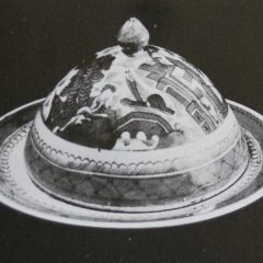BUTTER DISHES (Dome Top, Round Base)
