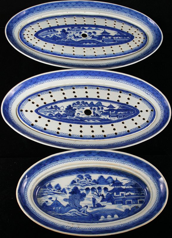 PLATTERS-FISH-STRAINERS (Oval)
