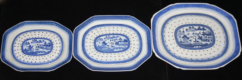 PLATTERS-MEAT-STRAINERS (Octagonal)